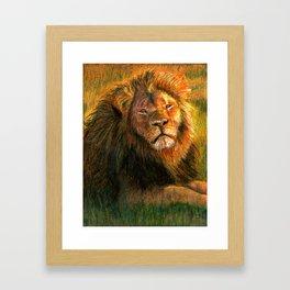 Cecil the Lion Framed Art Print