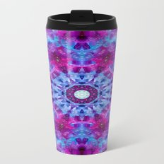 Tablecloth dewdrops.... Metal Travel Mug
