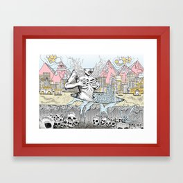 Alternative Reality Framed Art Print