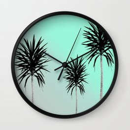 Saint Tropez Feeling #3 #beach #decor #art #society6 Wall Clock