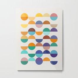 Minimalist pattern XIX Metal Print