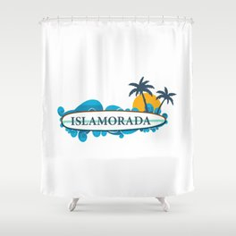 Islamorada - Florida. Shower Curtain