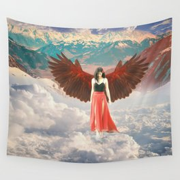 Lady of the Clouds Wall Tapestry