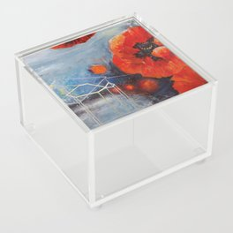 Poppies for K Acrylic Box