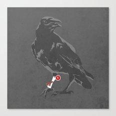 You've Got a Raven Canvas Print