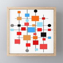 Mid-Century Modern Art 1.3.3 Framed Mini Art Print