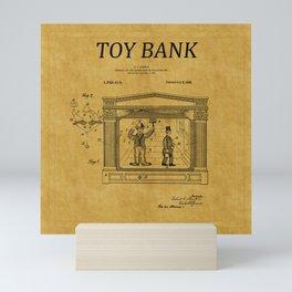 Toy Bank Patent 13 Mini Art Print