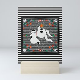 Nightmare Before Noel Mini Art Print