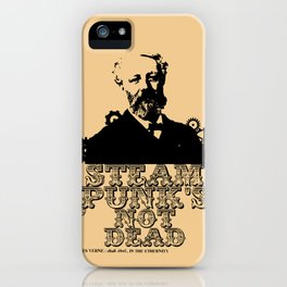 Jules Verne was a punk iPhone Case