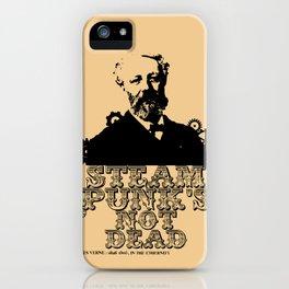 Jules Verne was a punk iPhone Case