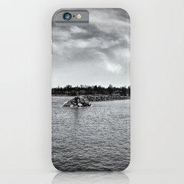 Rogers City shore iPhone Case