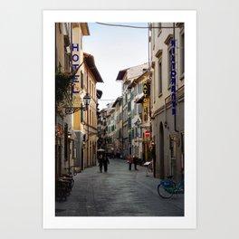 Via Faenza - Florence, Italy Art Print