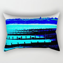 Sea View At Hornsea Rectangular Pillow