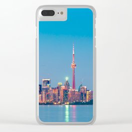 TORONTO 06 Clear iPhone Case
