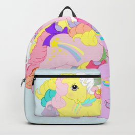 g1 my little pony rainbow curl ponies Backpack