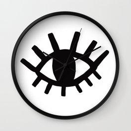 Open Eyes Wall Clock