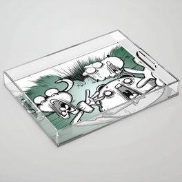 OMG ! (Peepoodo) Acrylic Tray