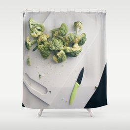 Beautiful Food by Amir Hanna Shower Curtain