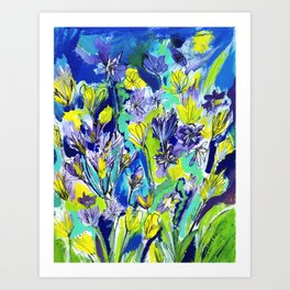 All the flowers Art Print