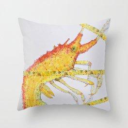 Shrimps Throw Pillow