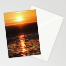San Pedro Golden Sunset Stationery Cards