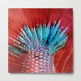Mermaids Tail Metal Print