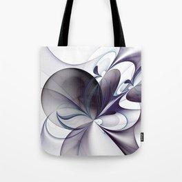 Easiness, Abstract Modern Fractal Art Tote Bag