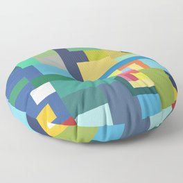 Color Cubes Floor Pillow