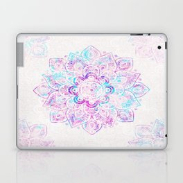 Winter Fiery Mandala Laptop & iPad Skin