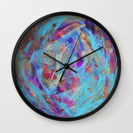 Abstract Flower 1 Wall Clock