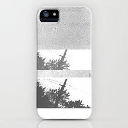 UFO Glitch iPhone Case