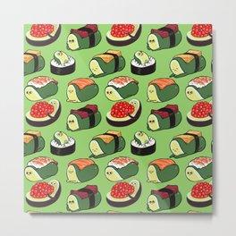 Sushi Avocado Metal Print