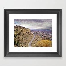 Zimmerman Trail Framed Art Print