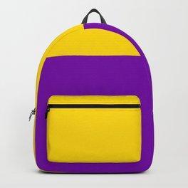 Intersex Flag Backpack