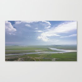 Yellow River in Sichuan, China Canvas Print