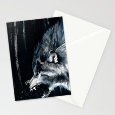 The Moon Is Full Again Stationery Cards