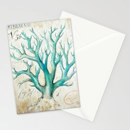 Blue Coral No. 2 Stationery Cards