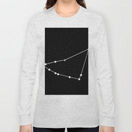 CAPRICORN (BLACK & WHITE) Long Sleeve T-shirt