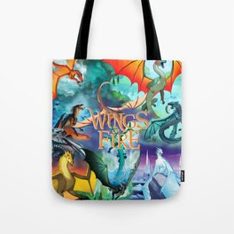 Wings Of Fire Painting Tote Bag