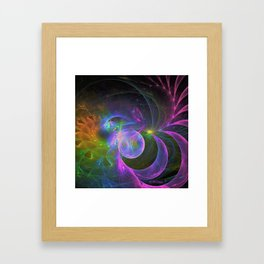 Cosmic Fantasy Trip Framed Art Print
