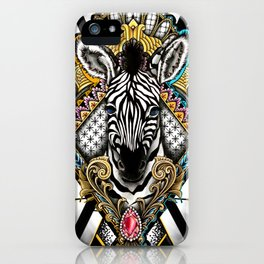 Prince of the Savanna iPhone Case