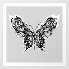 Beautifly. Art Print