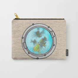 Triple Portholes Carry-All Pouch
