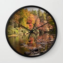Linville River Wall Clock