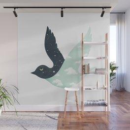 Bipolar Bird Wall Mural