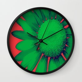 Daisy Dayz Wall Clock