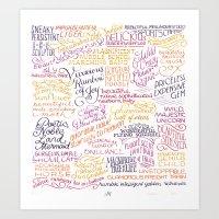 Ann, You… Art Print