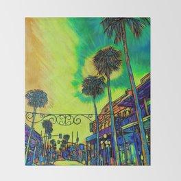 Ybor City Throw Blanket