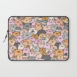 Pigs, Piglets & A Swine! Laptop Sleeve