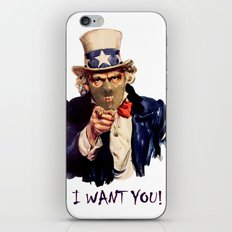 Uncle Sam iPhone & iPod Skin
